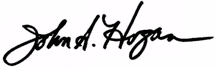 John Hogan signature