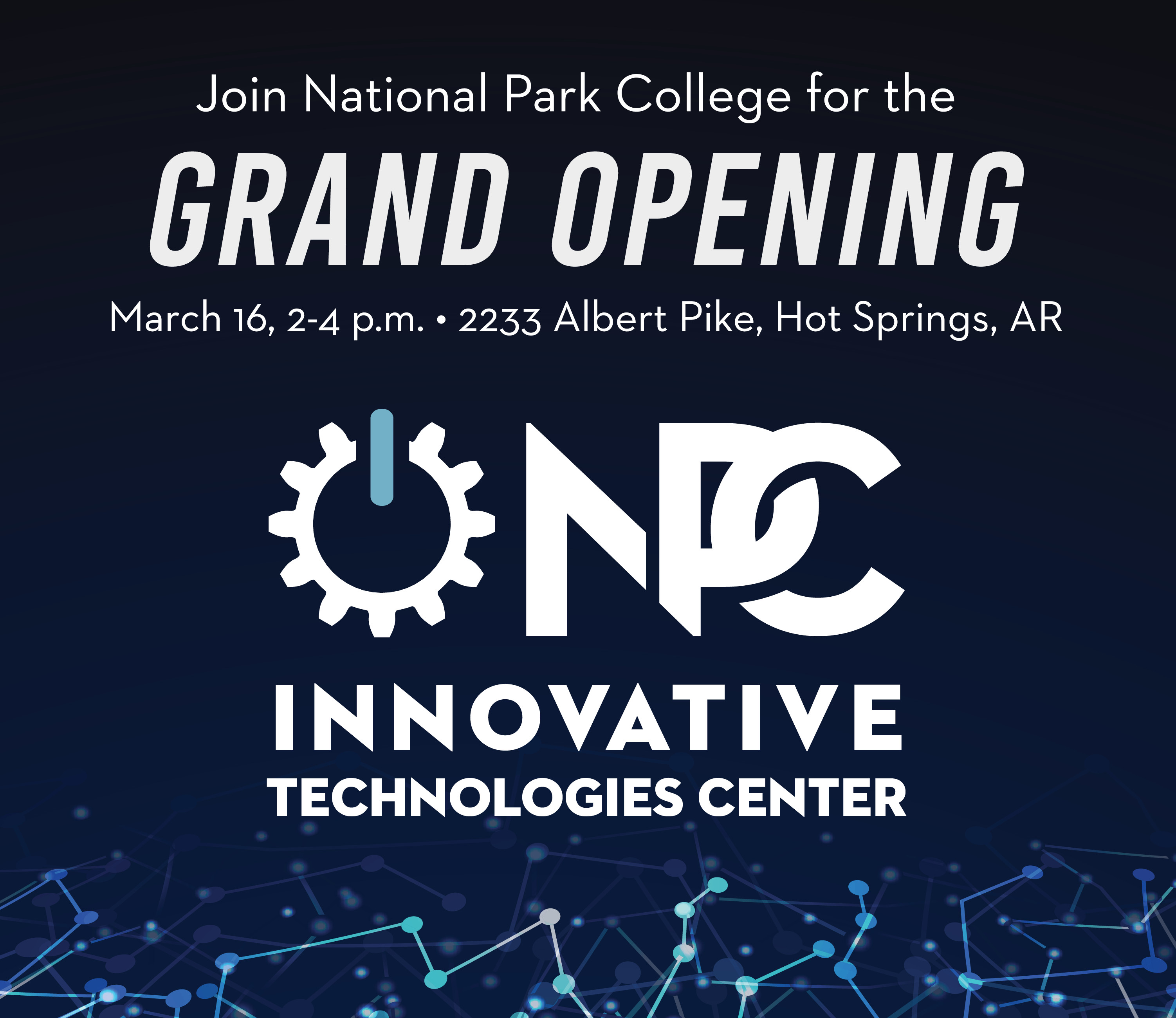 Grand Opening - March 16