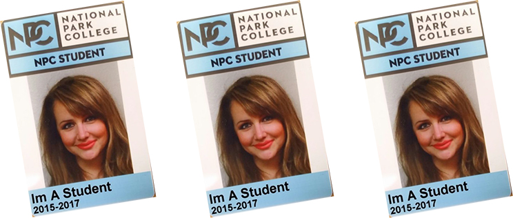 image of new student ID