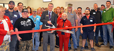 Aerospace Fabrication and Repair Program Hosted Open House