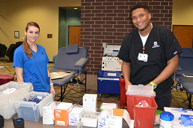 Nursing Division Hosts Spring Blood Drive