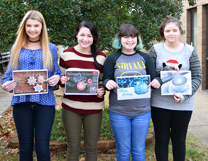 NPTC Students Compete In Holiday Card Contest