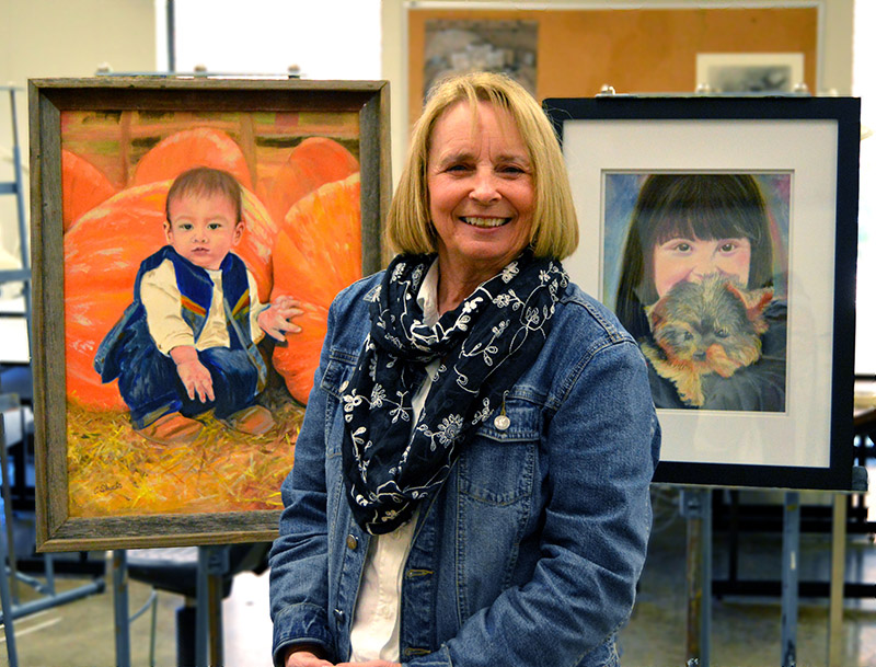 NPC Art Student Featured at River Valley Arts Center