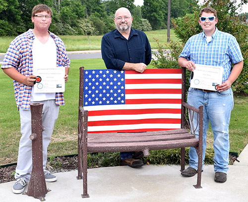 Welding Service Project Benefits VA Clinic