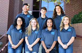 National Park College (NPC) selected the 2017-2018 Nighthawk Ambassadors last month.