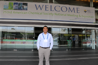 NPC Instructor Attends American Chemical Society National Meeting
