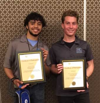 HSTE Students Win 3rd place at National Medical Conference