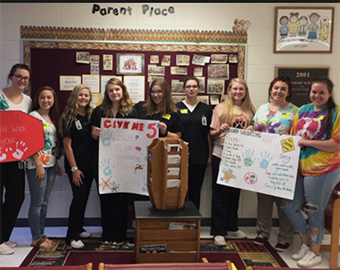 Medical Professions Student Service Project