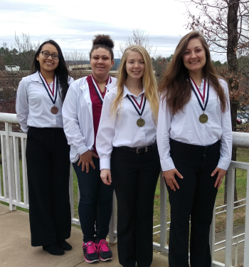 Students Win Gold at HOSA Competition