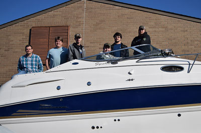 Farm Bureau Helps Marine Students With Boat Loan