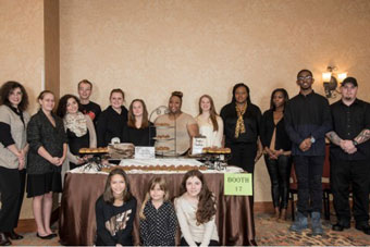 "The National Park College (NPC) Hospitality and Tourism program won first place for ""Best Taste"" and second place for ""People's Choice"" at the 2018 Cooperative Christian Ministries and Clinic Chocolate Festival."