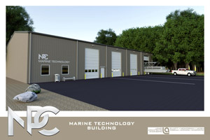 Marine Technology Building design