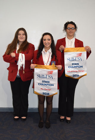 NPTC Students Earn Seven Medals At State Skills USA Competition